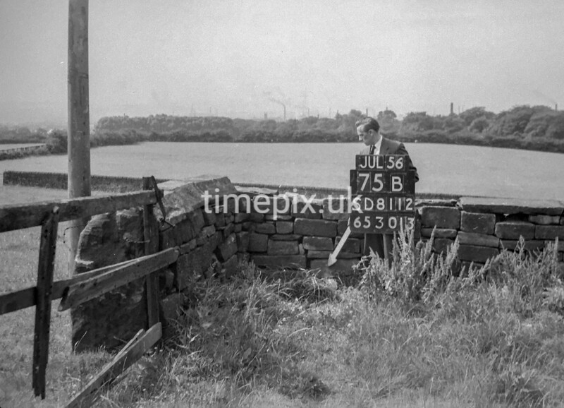SD811275B, Ordnance Survey Revision Point photograph in Greater Manchester