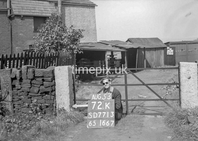 SD771372K, Ordnance Survey Revision Point photograph in Greater Manchester