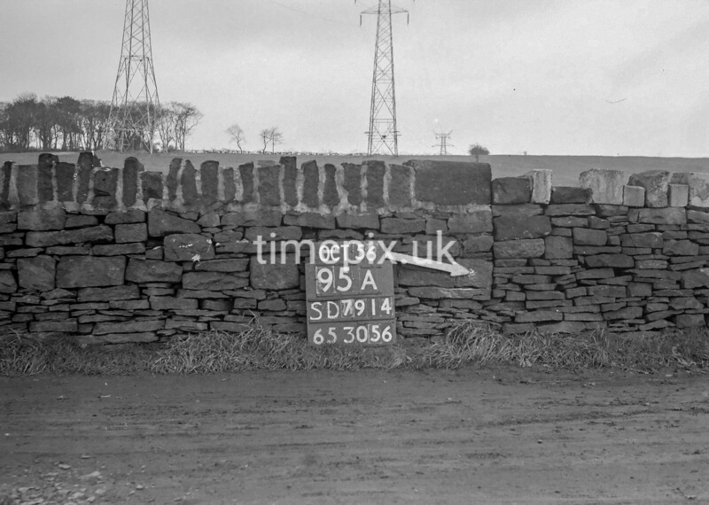 SD791495A, Ordnance Survey Revision Point photograph in Greater Manchester