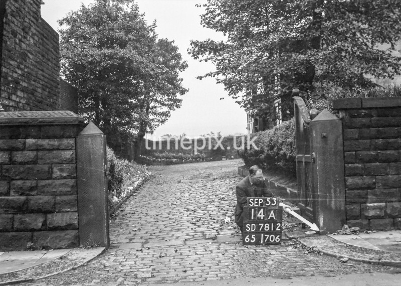 SD781214A, Ordnance Survey Revision Point photograph in Greater Manchester