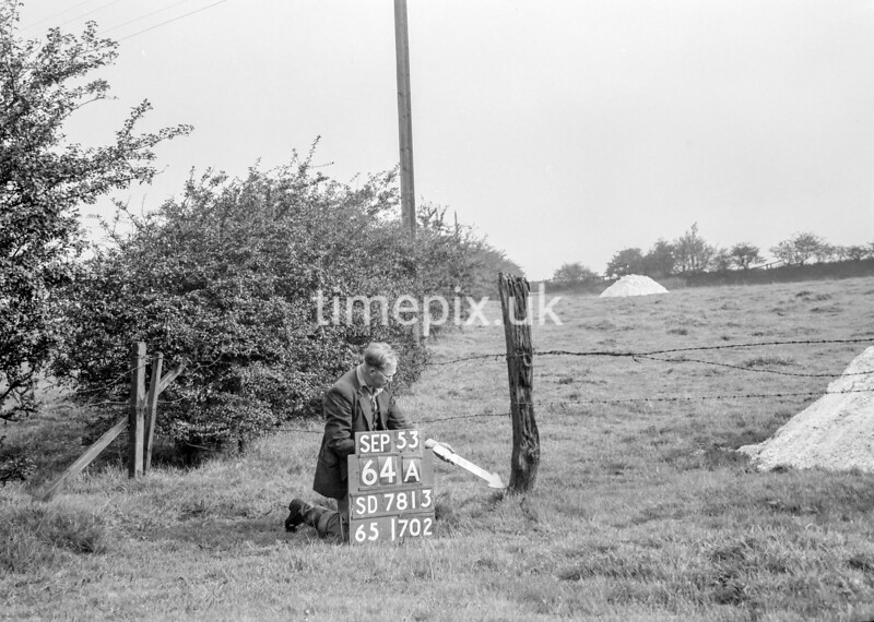 SD781364A, Ordnance Survey Revision Point photograph in Greater Manchester