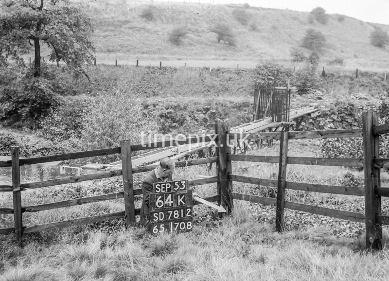 SD781264K, Ordnance Survey Revision Point photograph in Greater Manchester