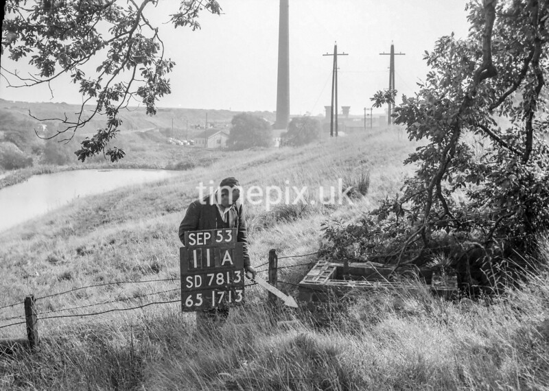 SD781311A1, Ordnance Survey Revision Point photograph in Greater Manchester