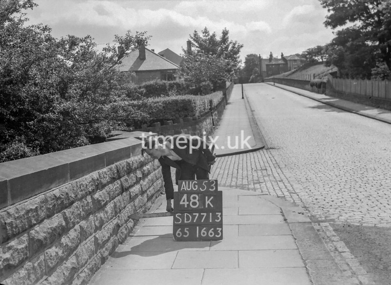 SD771348K, Ordnance Survey Revision Point photograph in Greater Manchester