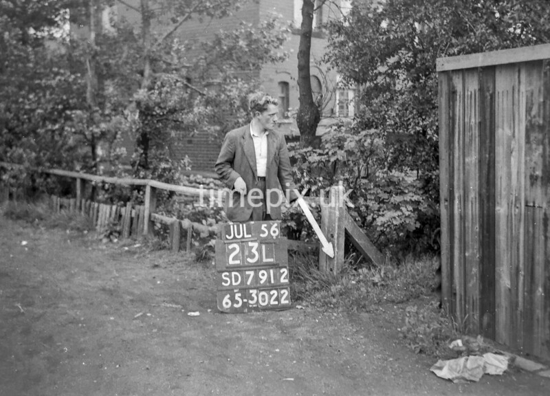 SD791223L, Ordnance Survey Revision Point photograph in Greater Manchester
