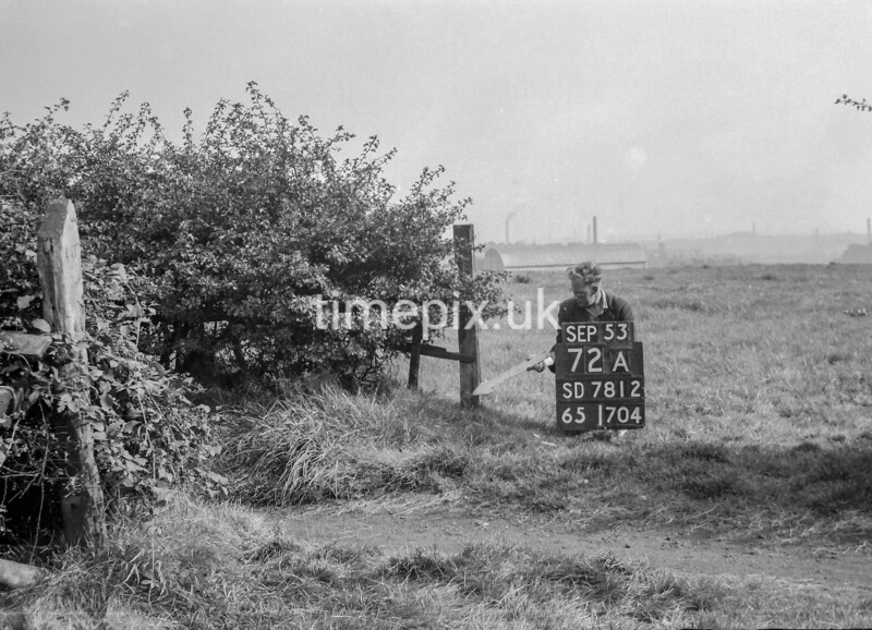 SD781272A, Ordnance Survey Revision Point photograph in Greater Manchester