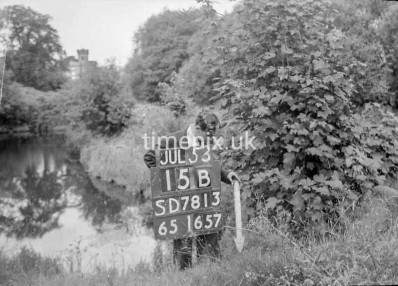 SD781315B, Ordnance Survey Revision Point photograph in Greater Manchester