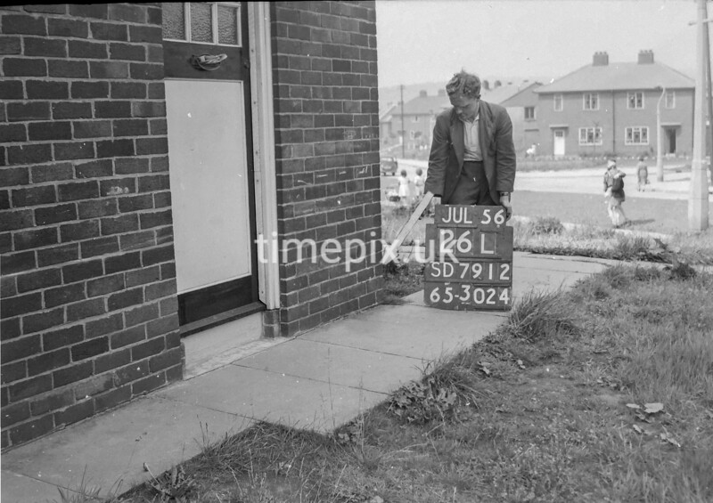 SD791226L, Ordnance Survey Revision Point photograph in Greater Manchester