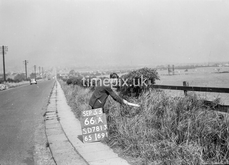 SD781366A, Ordnance Survey Revision Point photograph in Greater Manchester