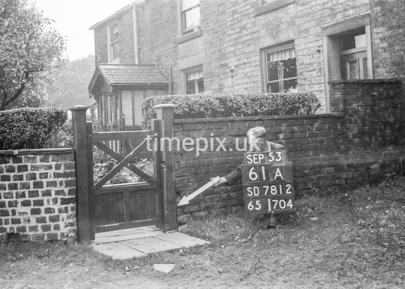 SD781261A, Ordnance Survey Revision Point photograph in Greater Manchester