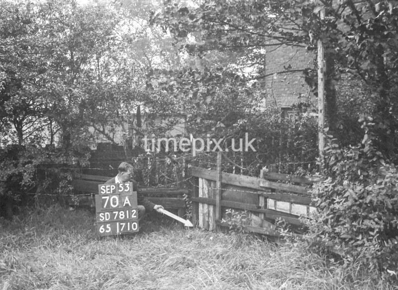 SD781270A, Ordnance Survey Revision Point photograph in Greater Manchester