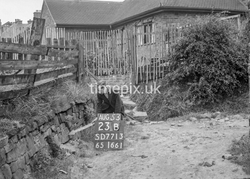SD771323B, Ordnance Survey Revision Point photograph in Greater Manchester
