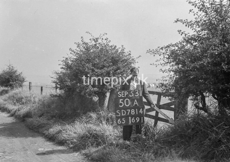 SD781450A, Ordnance Survey Revision Point photograph in Greater Manchester