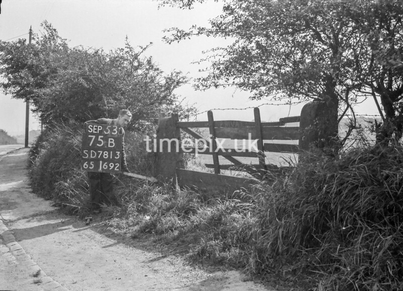 SD781375B, Ordnance Survey Revision Point photograph in Greater Manchester