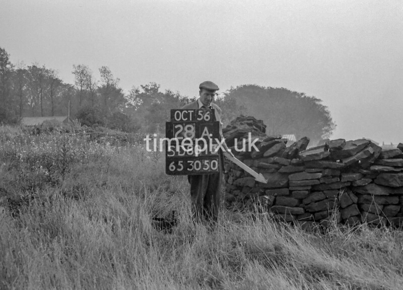 SD801328A, Ordnance Survey Revision Point photograph in Greater Manchester
