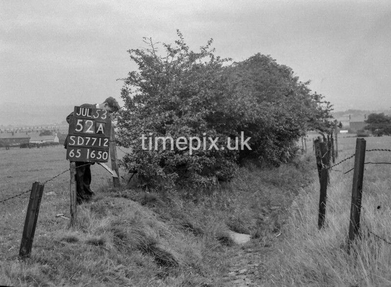 SD771252A, Ordnance Survey Revision Point photograph in Greater Manchester