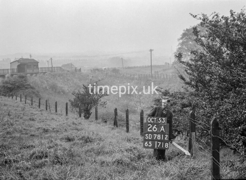SD781226A, Ordnance Survey Revision Point photograph in Greater Manchester