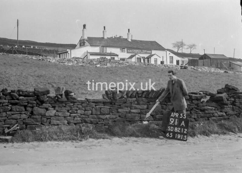 SD821291A, Ordnance Survey Revision Point photograph in Greater Manchester