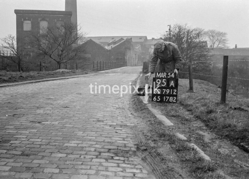 SD791295A, Ordnance Survey Revision Point photograph in Greater Manchester