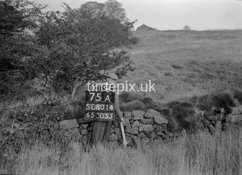 SD801475A, Ordnance Survey Revision Point photograph in Greater Manchester