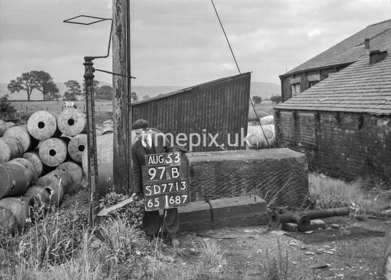 SD771397B, Ordnance Survey Revision Point photograph in Greater Manchester
