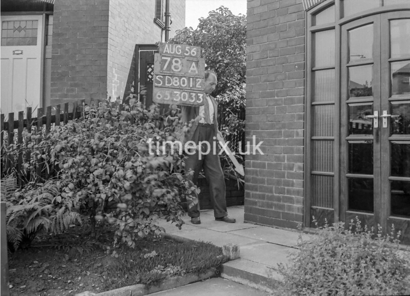 SD801278A, Ordnance Survey Revision Point photograph in Greater Manchester