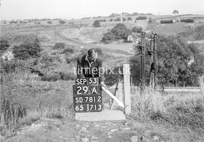 SD781229A, Ordnance Survey Revision Point photograph in Greater Manchester
