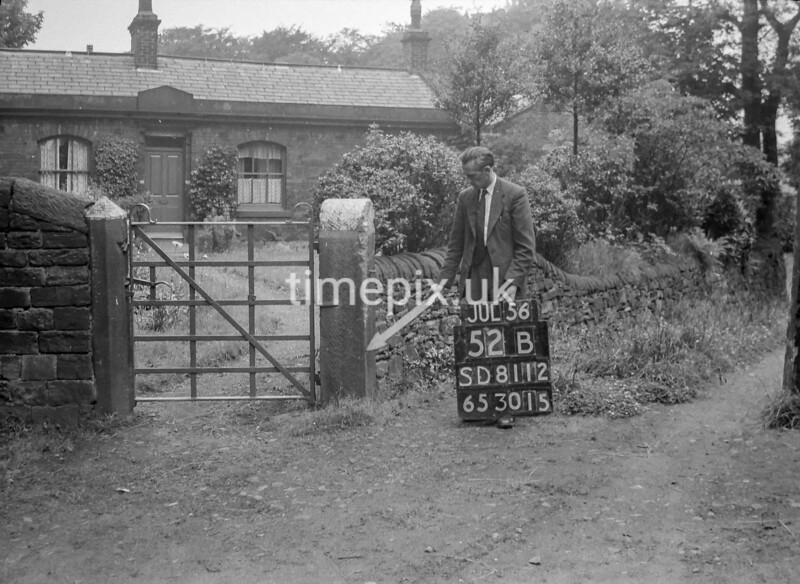 SD811252B, Ordnance Survey Revision Point photograph in Greater Manchester