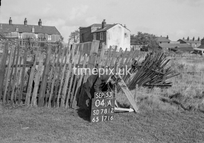 SD781204A, Ordnance Survey Revision Point photograph in Greater Manchester
