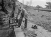 SD801221K, Ordnance Survey Revision Point photograph in Greater Manchester
