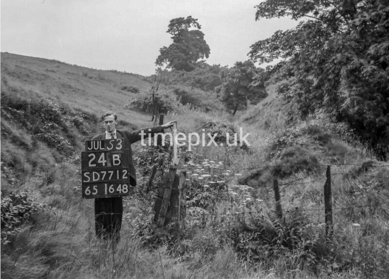 SD771224B, Ordnance Survey Revision Point photograph in Greater Manchester