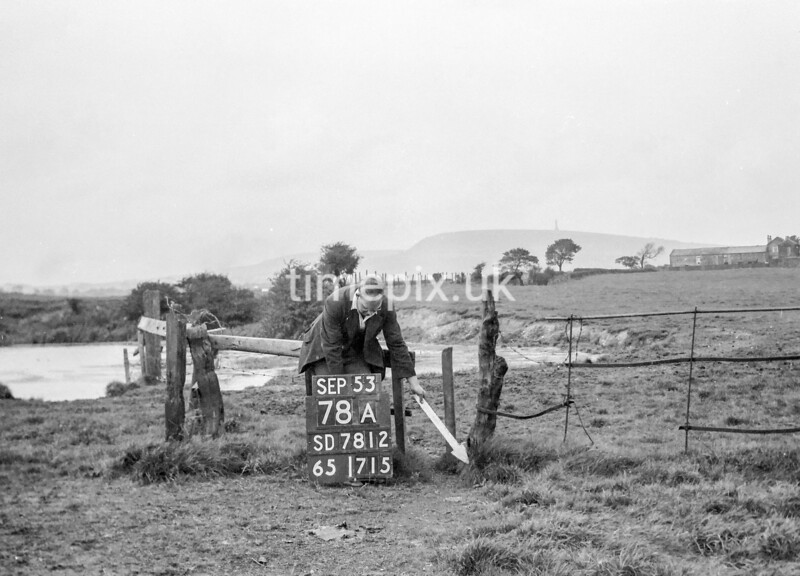 SD781278A, Ordnance Survey Revision Point photograph in Greater Manchester