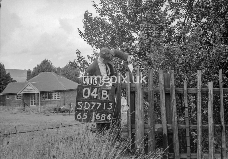 SD771304B, Ordnance Survey Revision Point photograph in Greater Manchester