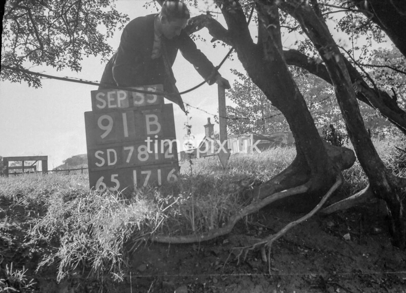 SD781291B, Ordnance Survey Revision Point photograph in Greater Manchester
