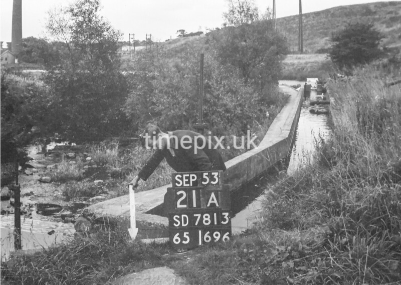 SD781321A, Ordnance Survey Revision Point photograph in Greater Manchester