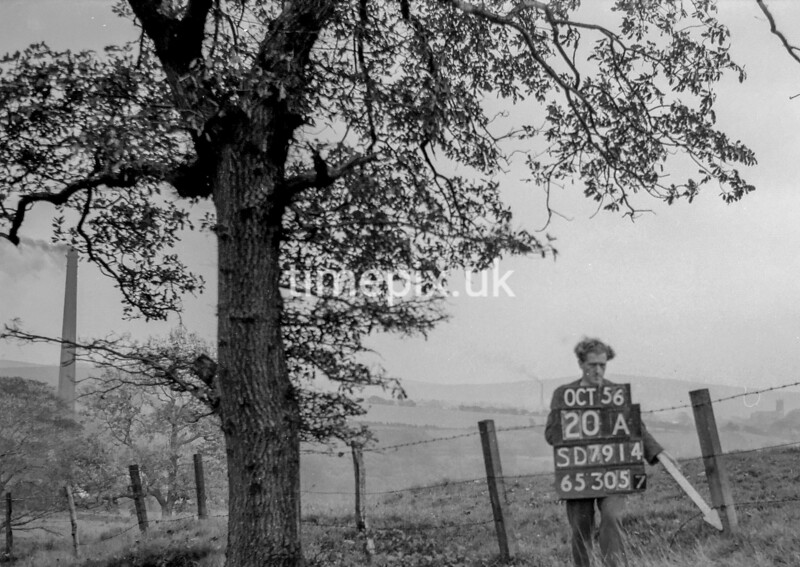 SD791420A, Ordnance Survey Revision Point photograph in Greater Manchester