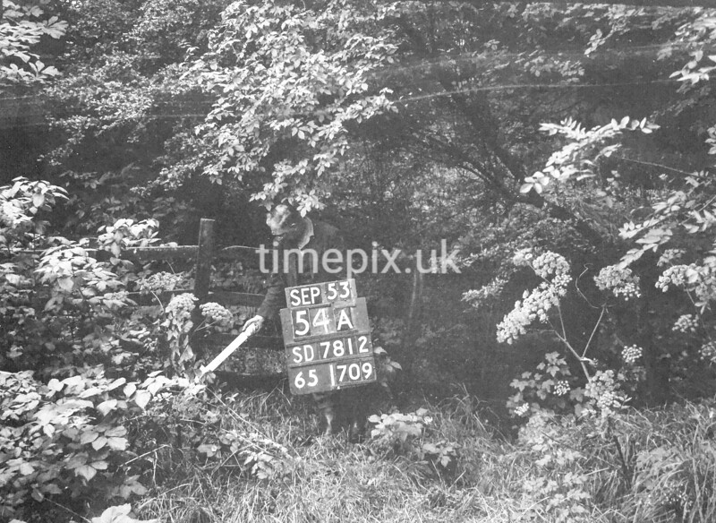 SD781254A, Ordnance Survey Revision Point photograph in Greater Manchester