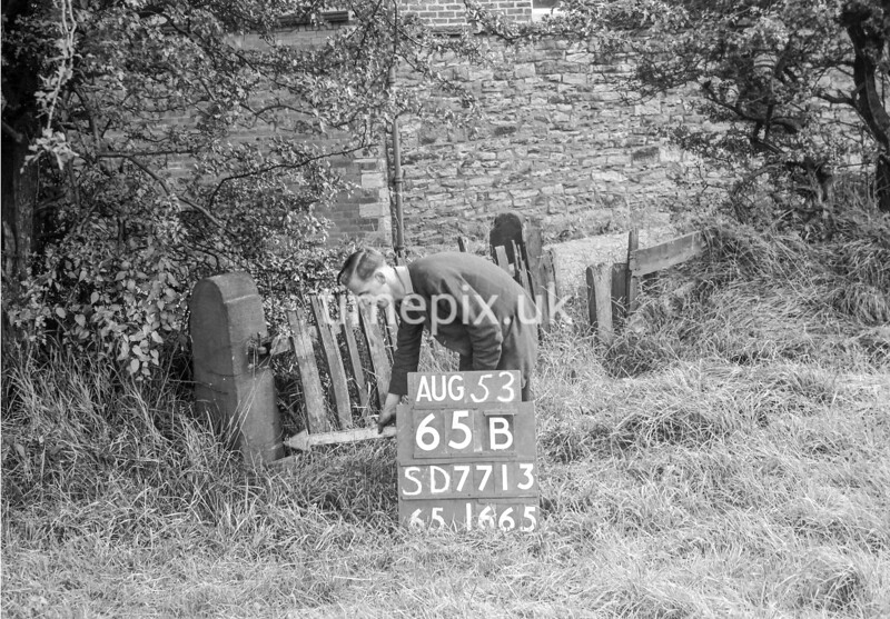 SD771365B, Ordnance Survey Revision Point photograph in Greater Manchester