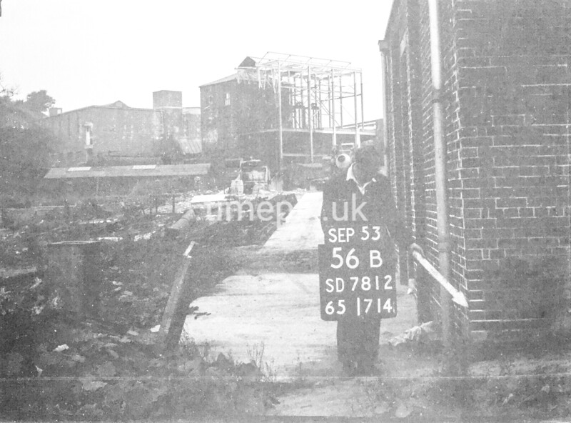 SD781256B, Ordnance Survey Revision Point photograph in Greater Manchester