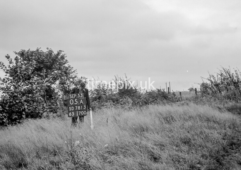 SD781305A, Ordnance Survey Revision Point photograph in Greater Manchester