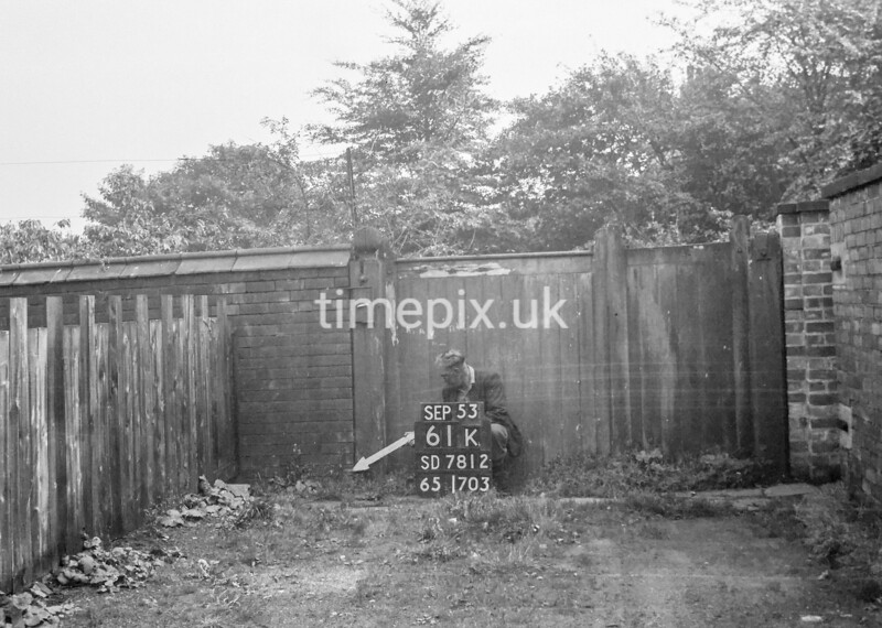 SD781261K, Ordnance Survey Revision Point photograph in Greater Manchester