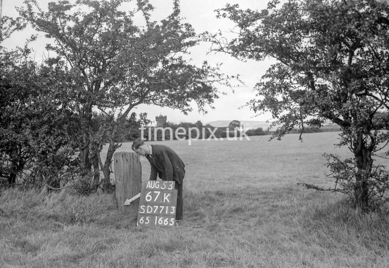 SD771367K, Ordnance Survey Revision Point photograph in Greater Manchester