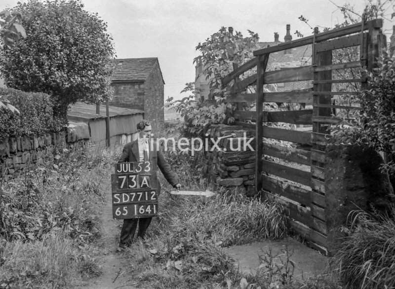 SD771273A, Ordnance Survey Revision Point photograph in Greater Manchester