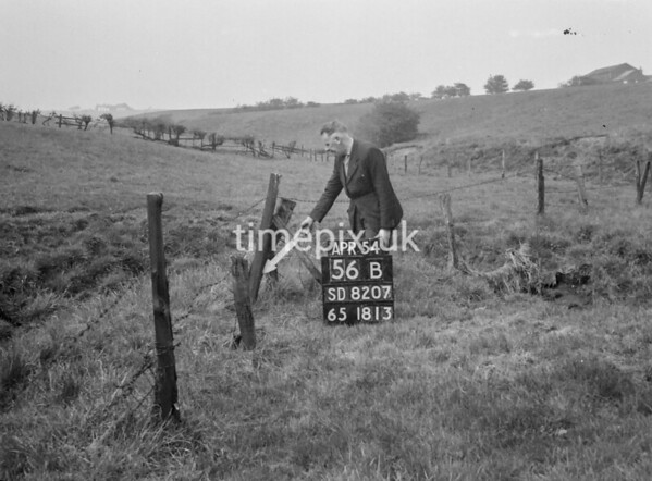 SD820756B, Ordnance Survey Revision Point photograph in Greater Manchester