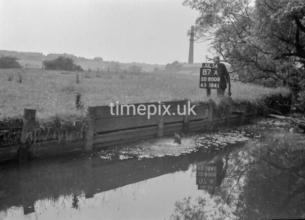 SD800887A, Ordnance Survey Revision Point photograph in Greater Manchester