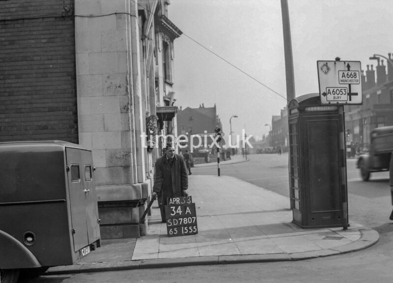 SD780734A, Ordnance Survey Revision Point photograph in Greater Manchester