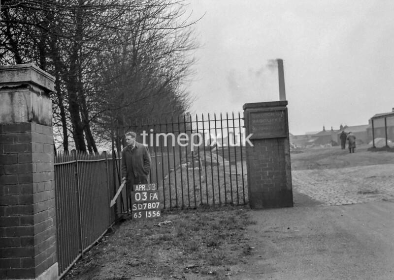 SD780703A, Ordnance Survey Revision Point photograph in Greater Manchester