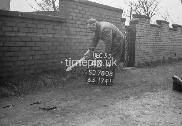 SD780840A, Ordnance Survey Revision Point photograph in Greater Manchester
