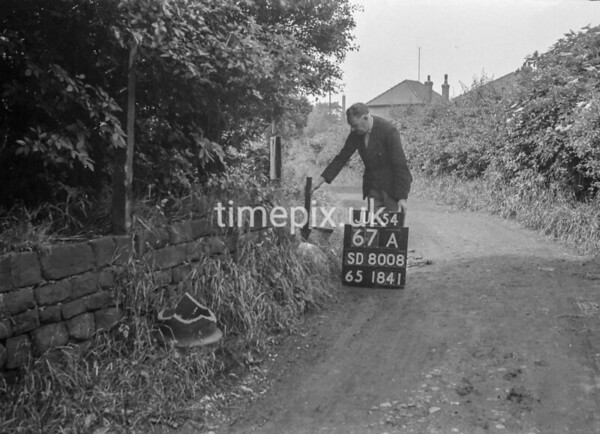SD800867A1, Ordnance Survey Revision Point photograph in Greater Manchester