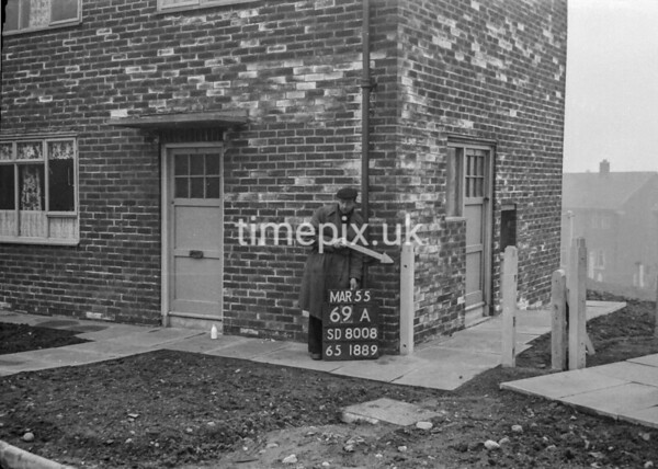SD800869A, Ordnance Survey Revision Point photograph in Greater Manchester